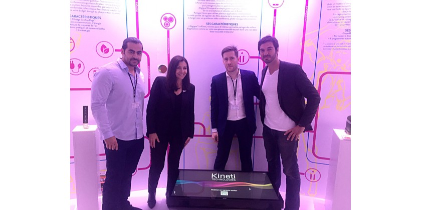 Anne Hildalgo (Mayor of Paris) delighted by La Table Kineti