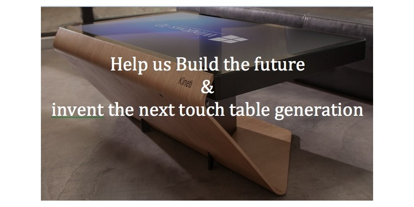 Help us to build the future!